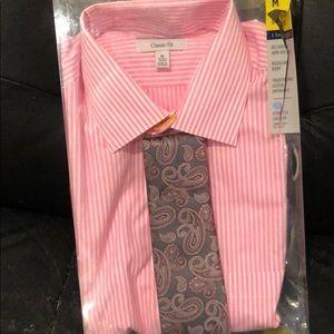 Dress shirt with tie NWT